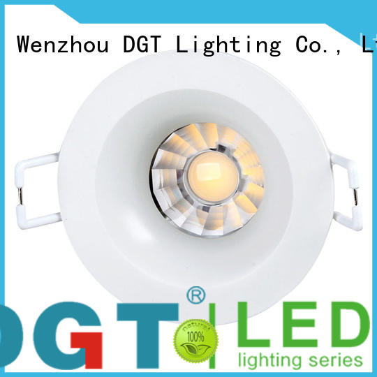 DGT Lighting approved led recessed spotlights with good price for indoor