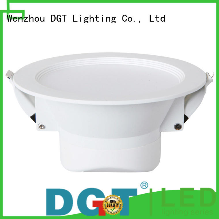 DGT Lighting bathroom downlights personalized for spa