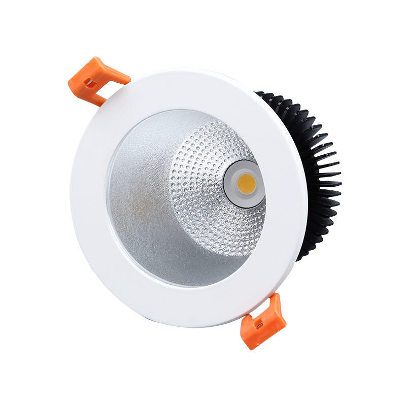 MQ-7353 14W  recessed high lumen cob LED spotlight dimmable optional