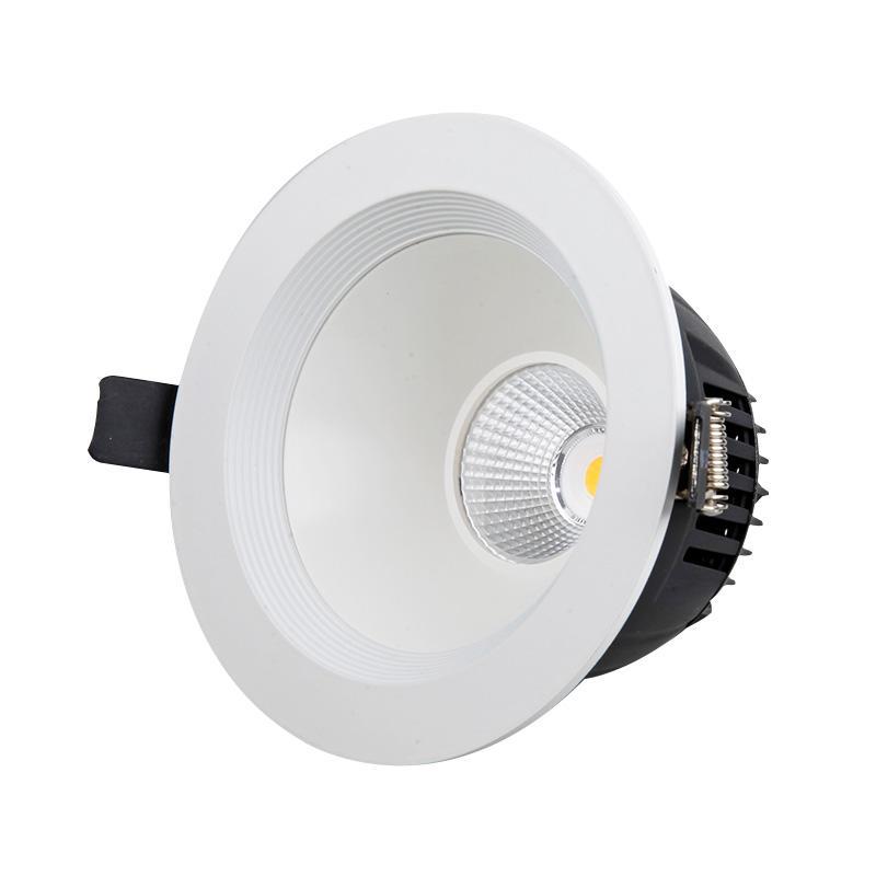 MQ-7382 14W recessed anti-flicker cob LED downlight