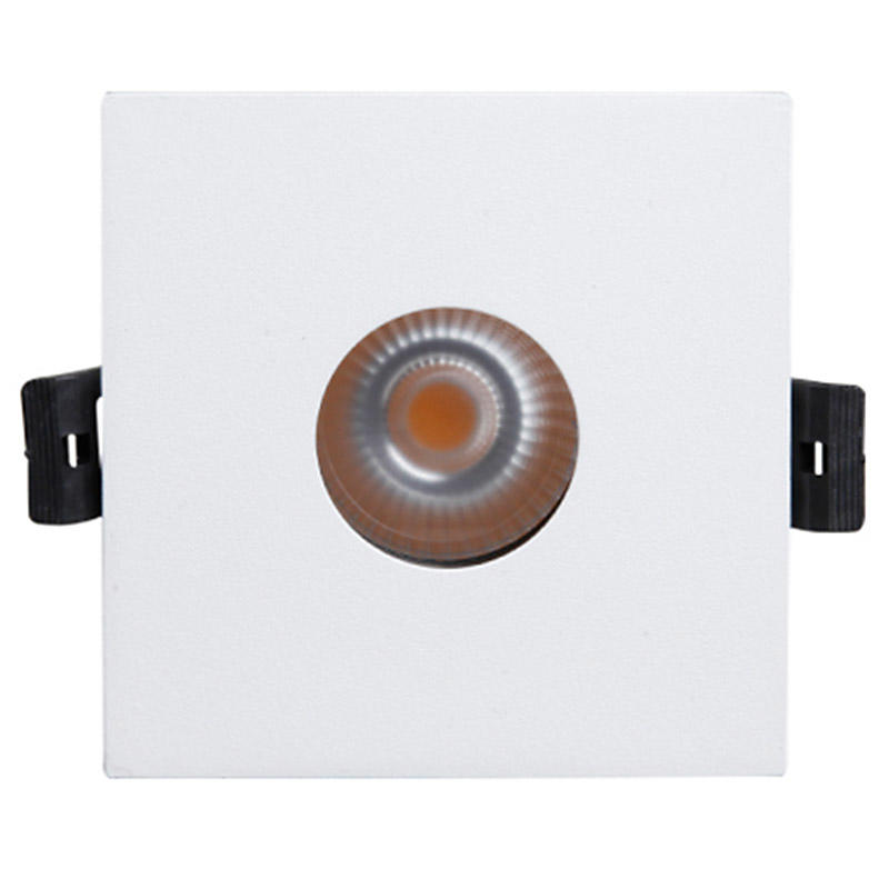 MQ-1822 Square Fixture Recessed 15/25/38/60 Degree LED Spotlight