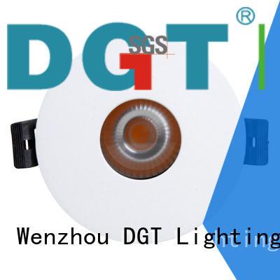 white ceiling spotlights for club DGT Lighting