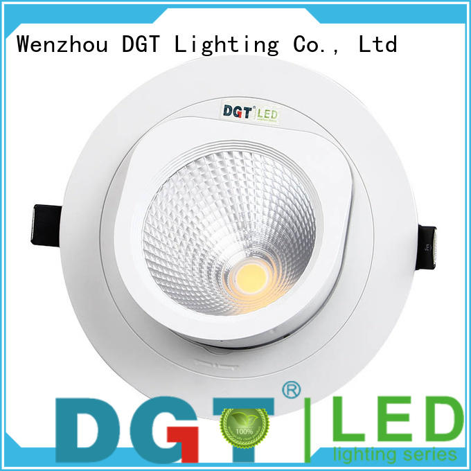 DGT Lighting firstclass ceiling spotlights inquire now for club
