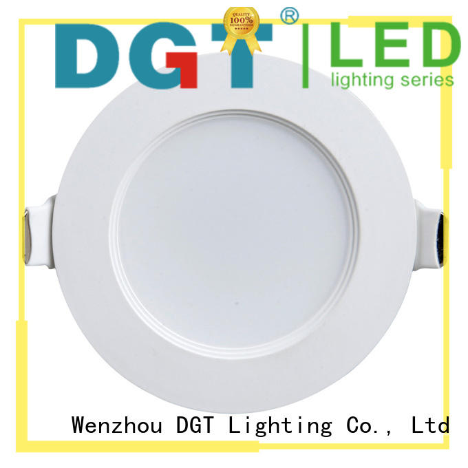 DGT Lighting long lifespan dimmable led downlights personalized for househlod