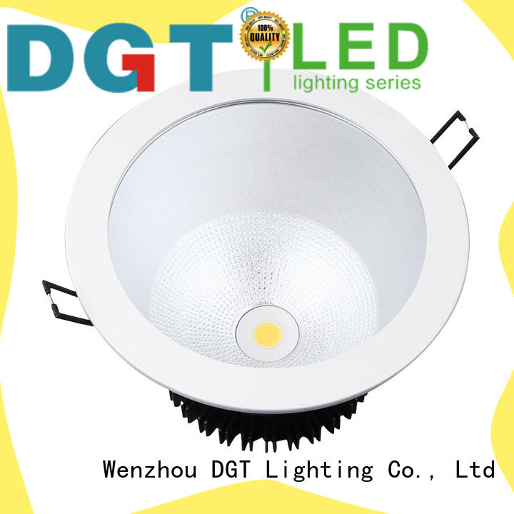 DGT Lighting quality low profile led downlights for spa