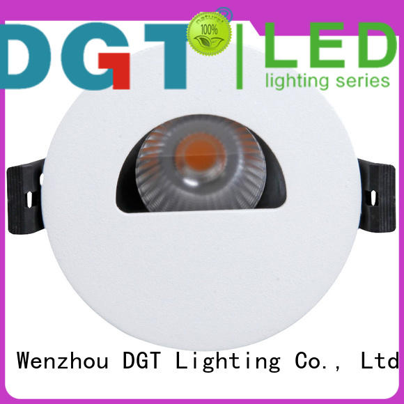 DGT Lighting recessed spotlights design for commercial