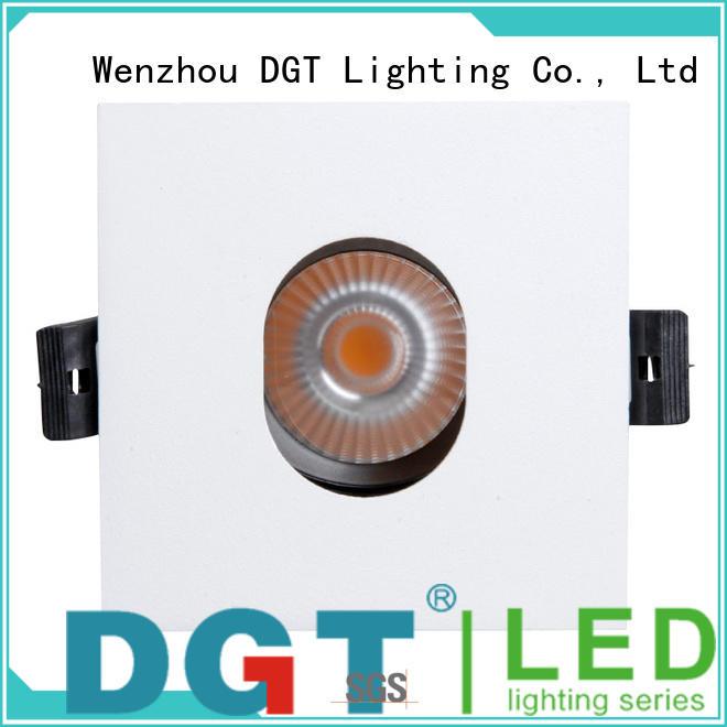 DGT Lighting approved led spotlights for commercial