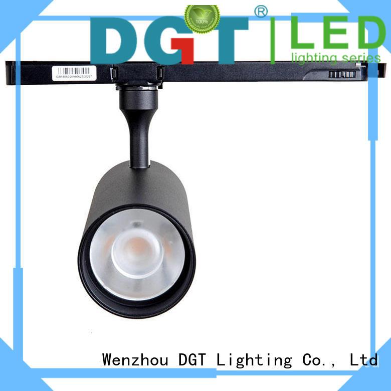 white high end track lighting series for bar