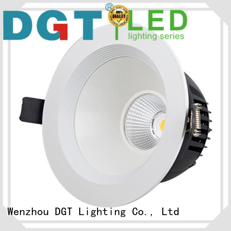 DGT Lighting dimmable led downlights personalized for spa