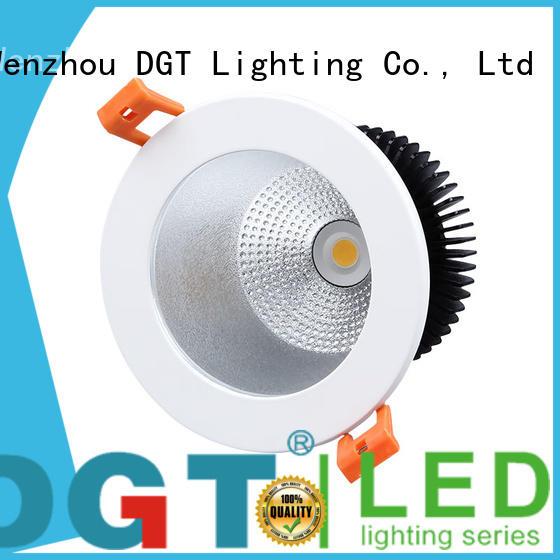 DGT Lighting sturdy square led downlights supplier for bathroom