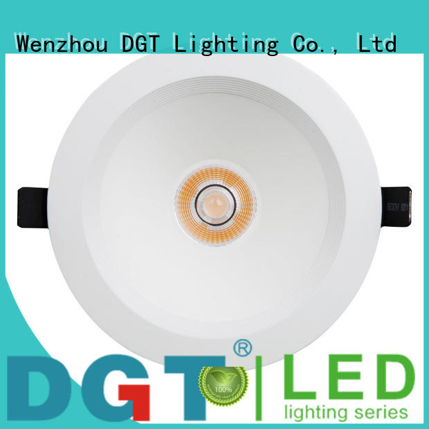 DGT Lighting adjustable led downlight personalized for spa