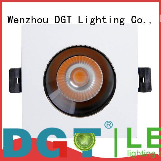 DGT Lighting dim white spotlights design for indoor