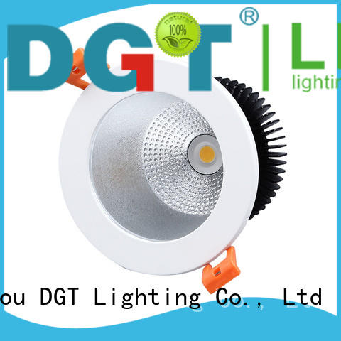 DGT Lighting certificated down lights factory price for bathroom