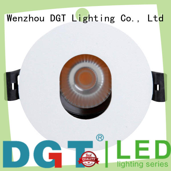 DGT Lighting approved led recessed spotlights factory for bar