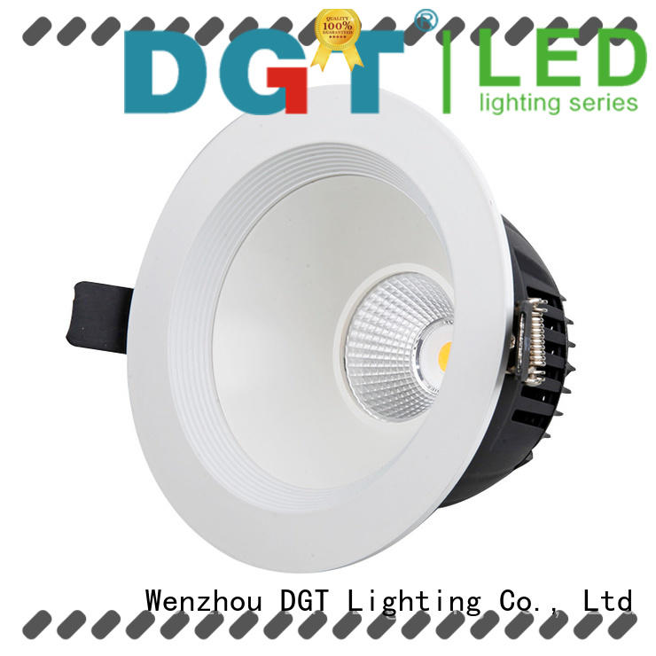 stable professional led downlight factory price for bathroom DGT Lighting