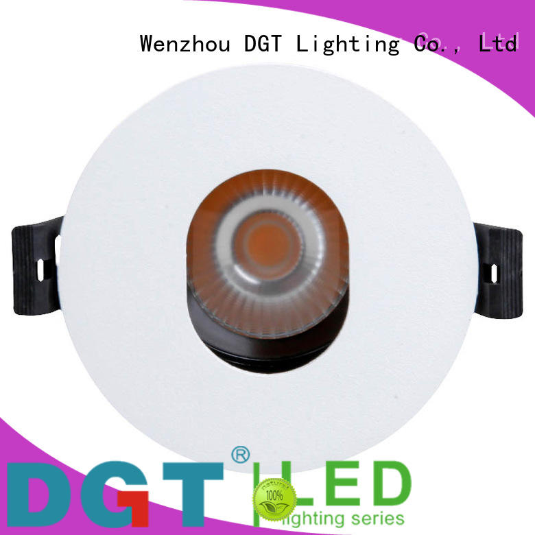 DGT Lighting firstclass led recessed spotlights design for club