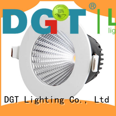 DGT Lighting ceiling downlights personalized for spa