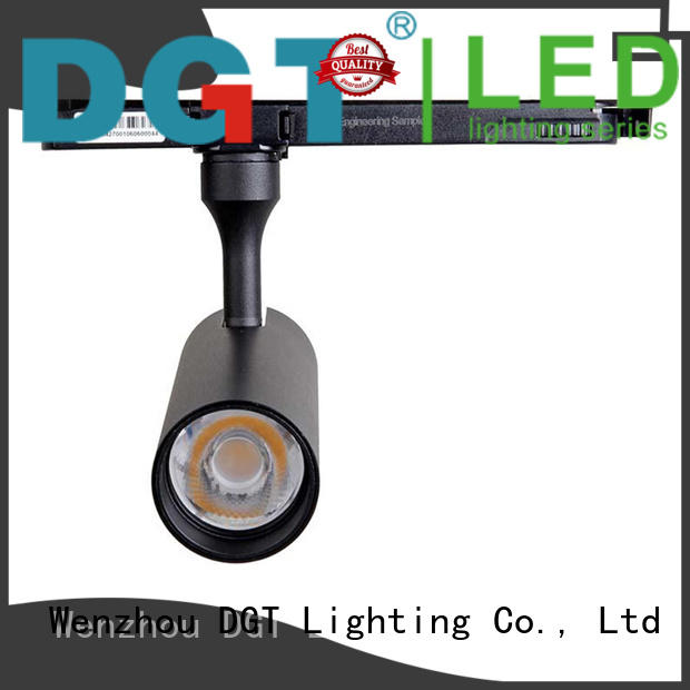 black modern track lighting from China for outdoor