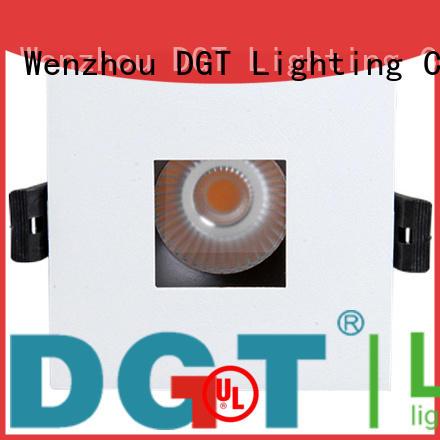 DGT Lighting dim led recessed spotlights design for indoor