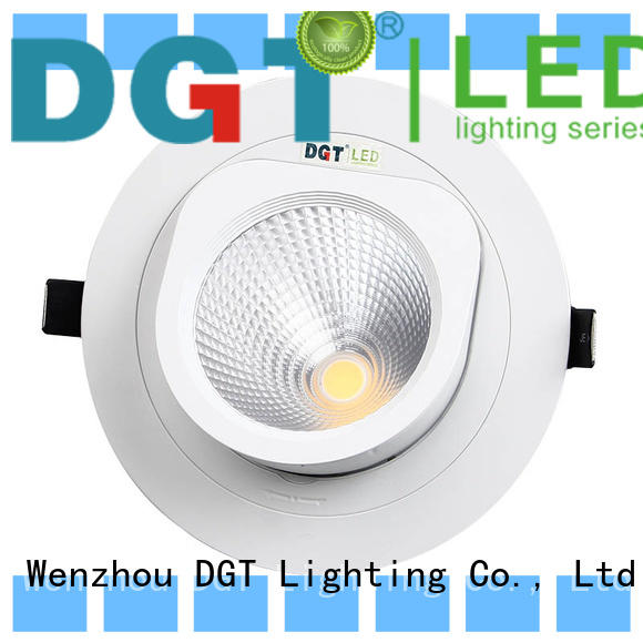 DGT Lighting excellent white spotlights factory for commercial