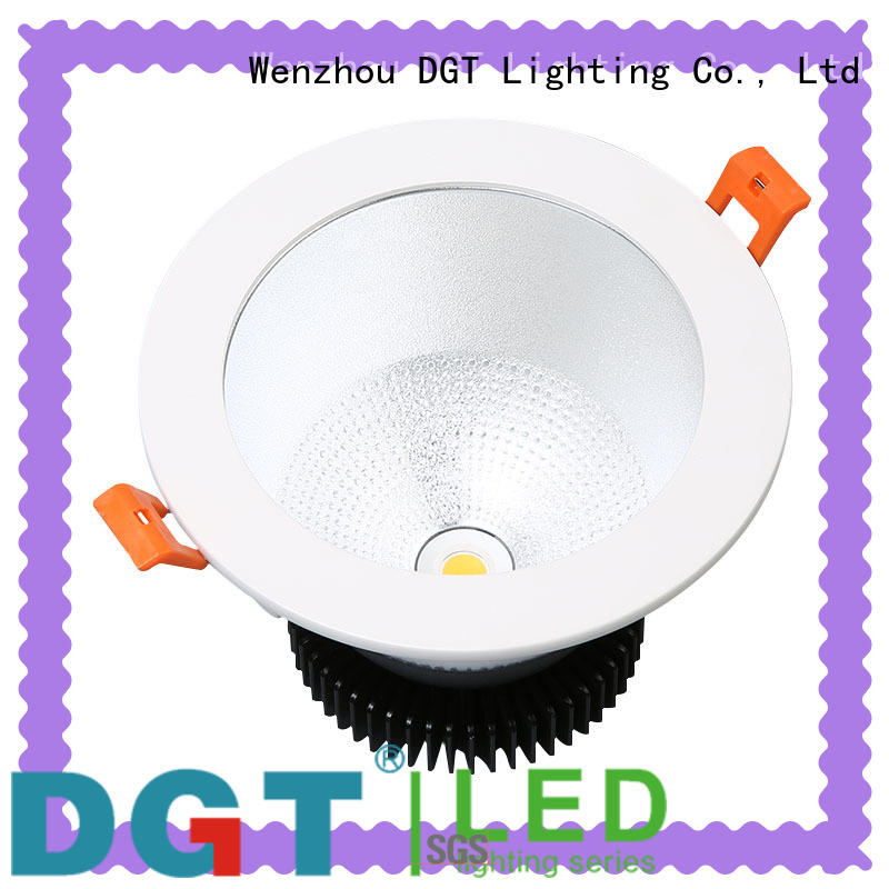 DGT Lighting sturdy recessed downlight fixture wholesale for spa