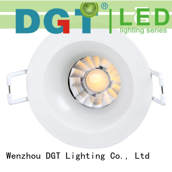 DGT Lighting commercial spotlight design for indoor
