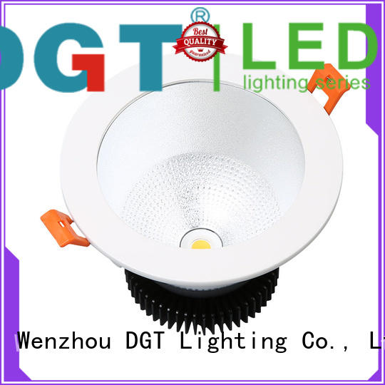 DGT Lighting certificated led downlight personalized for bathroom