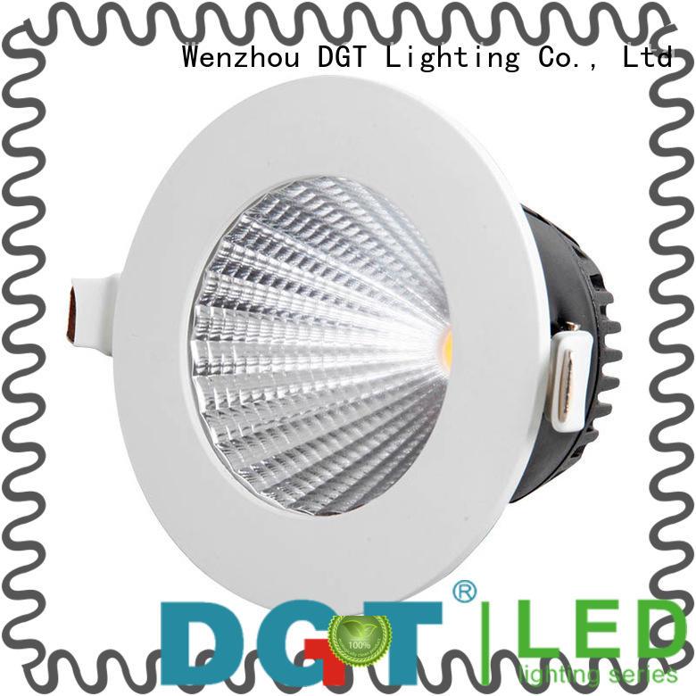 DGT Lighting long lifespan recessed adjustable led downlights for spa