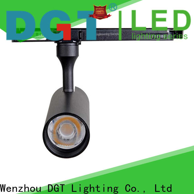 DGT Lighting durable bedroom track lighting directly sale for stage