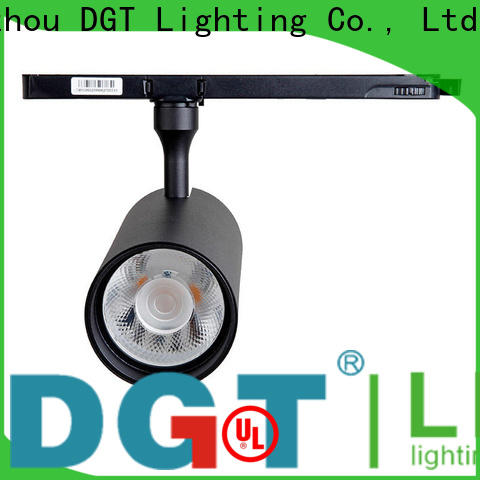 DGT Lighting black track spotlight customized for bar