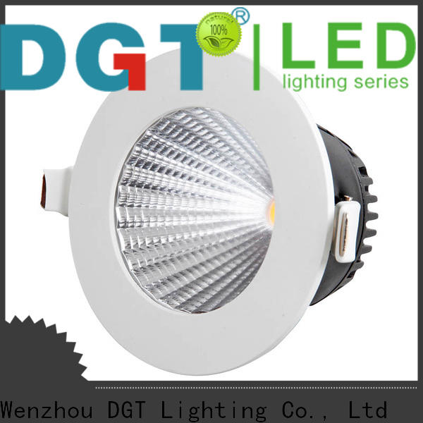 DGT Lighting certificated 240V downlight wholesale for bathroom