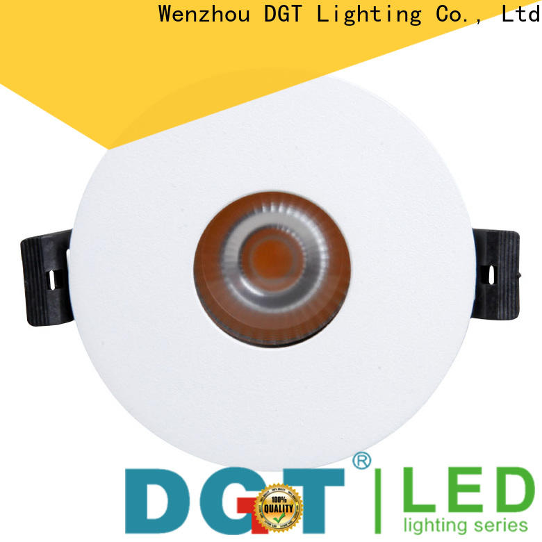 DGT Lighting led spot lights design for commercial
