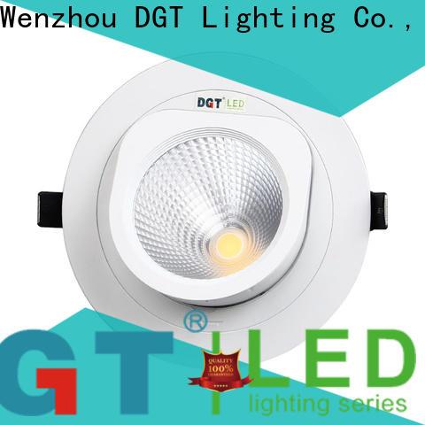DGT Lighting white spotlights design for bar
