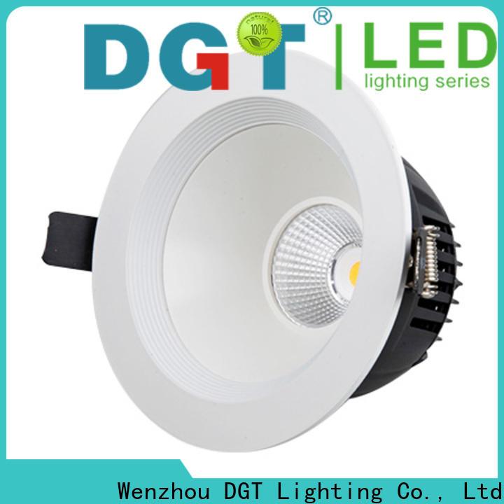 DGT Lighting stable adjustable led downlight wholesale for househlod