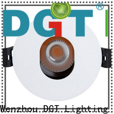 DGT Lighting efficient led recessed spotlights with good price for indoor