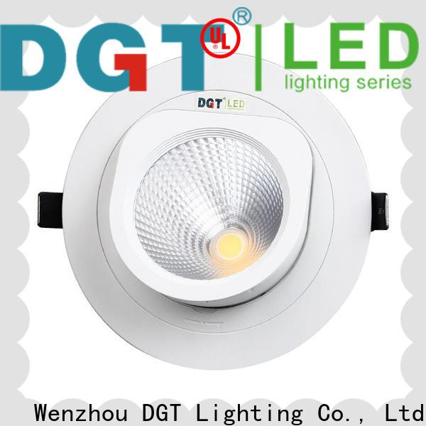 DGT Lighting efficient led spotlights design for commercial