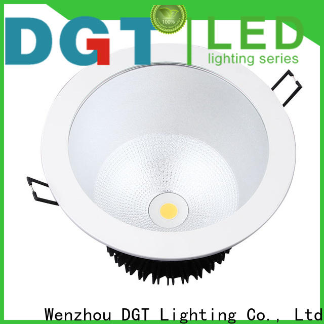 DGT Lighting dimmable led downlights factory price for spa