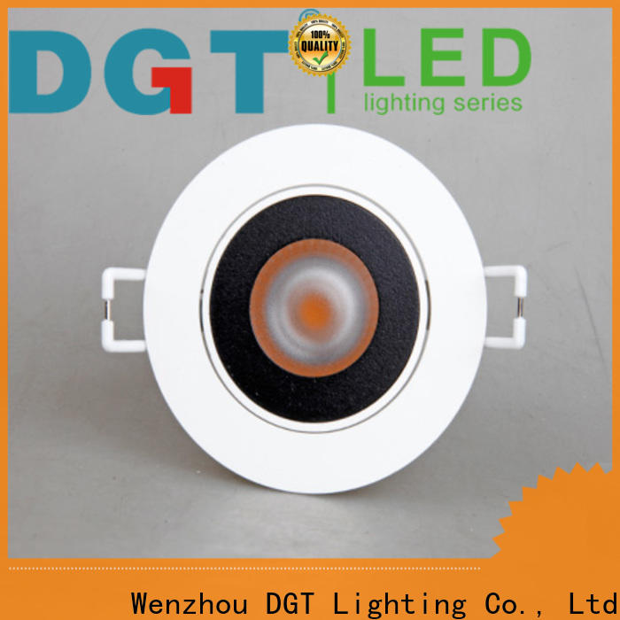 DGT Lighting approved indoor led spotlight factory for bar