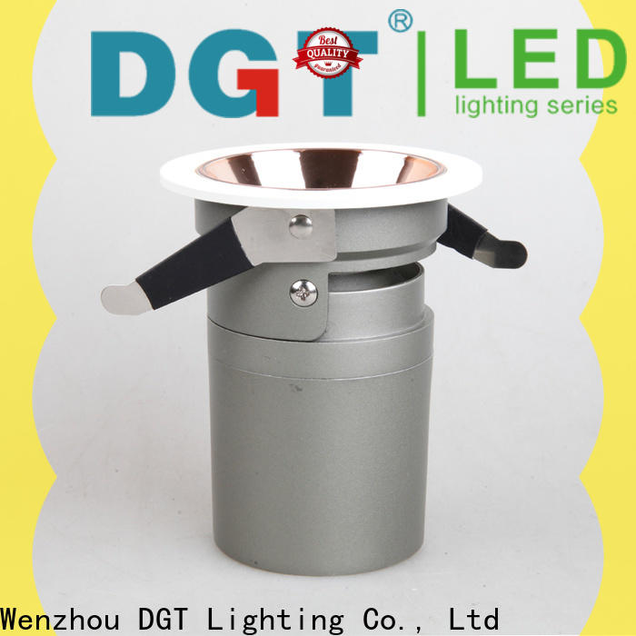 DGT Lighting approved led spots 240v factory for indoor