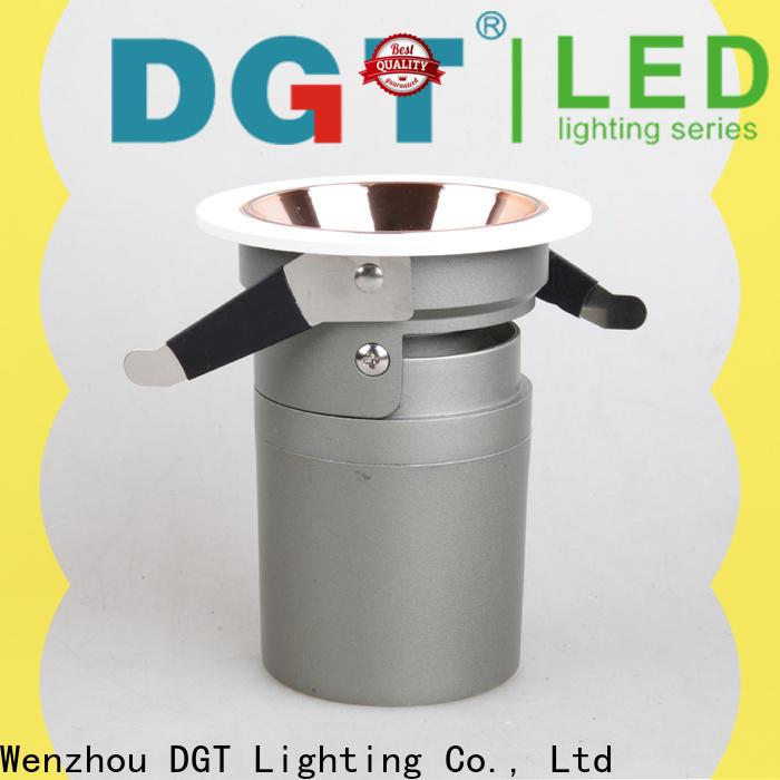 DGT Lighting approved led spots 240v factory for indoor