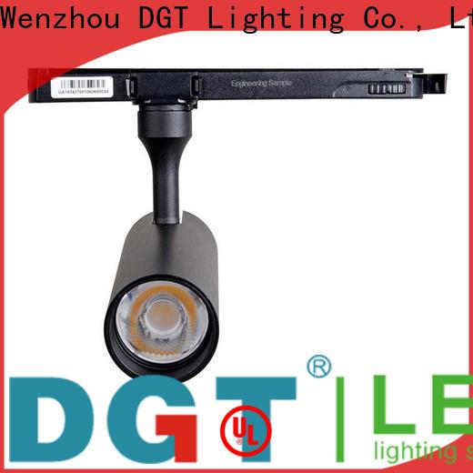 DGT Lighting low profile track lighting series for outdoor