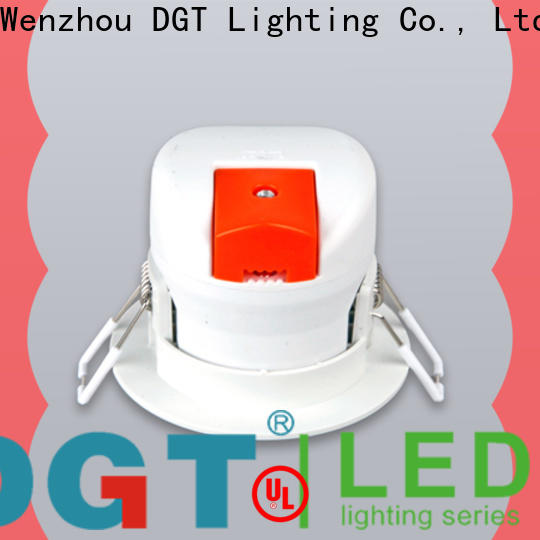 DGT Lighting spotlight light design for commercial