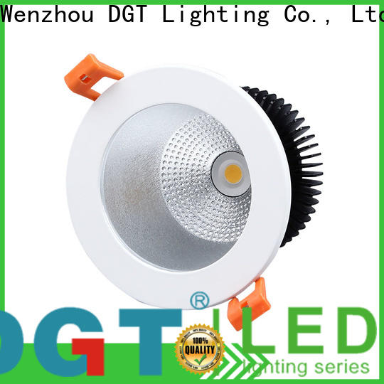 DGT Lighting certificated square led downlights factory price for bathroom