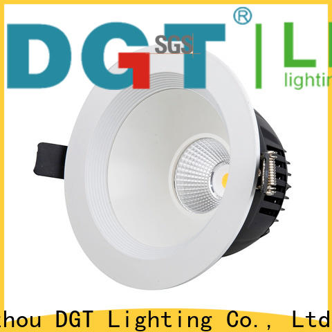 DGT Lighting square downlight supplier for spa