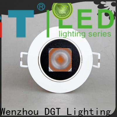 DGT Lighting elegant white spotlights design for club