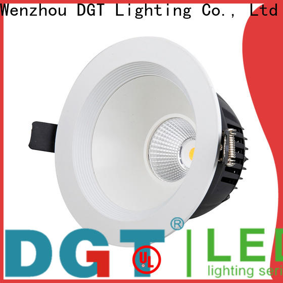 DGT Lighting recessed downlight personalized for spa