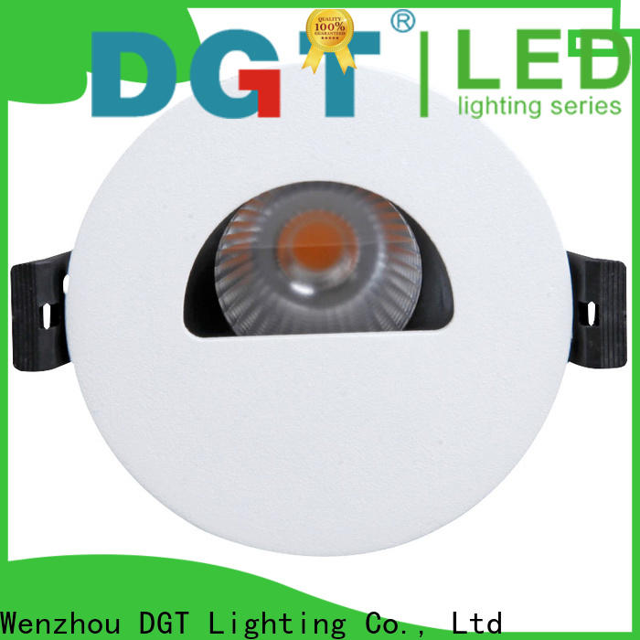 DGT Lighting approved led ceiling spotlights factory for bar