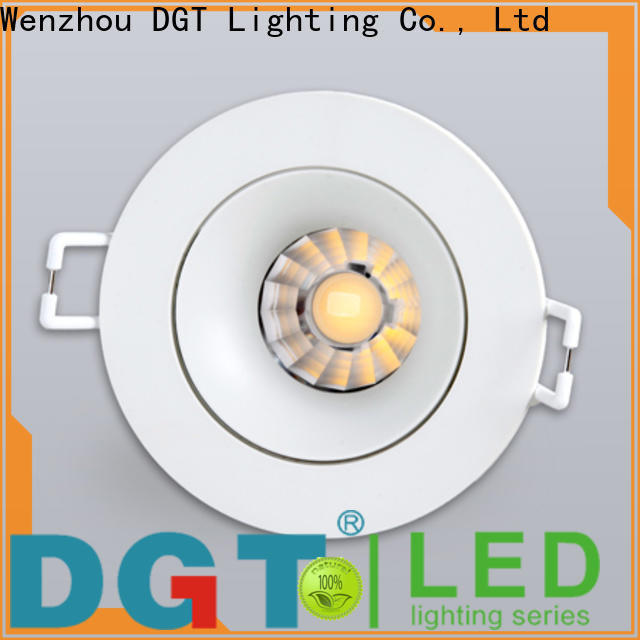 DGT Lighting approved led recessed spotlights factory for commercial
