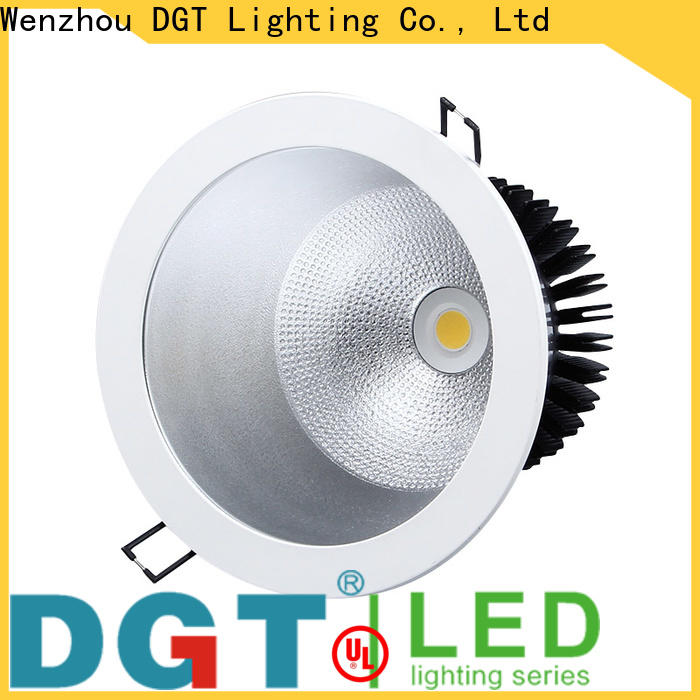 DGT Lighting kitchen downlights personalized for spa