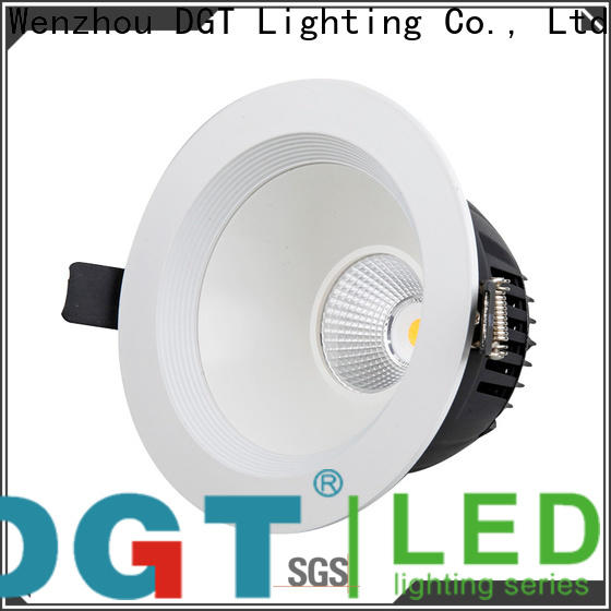 DGT Lighting stable square downlight personalized for bathroom